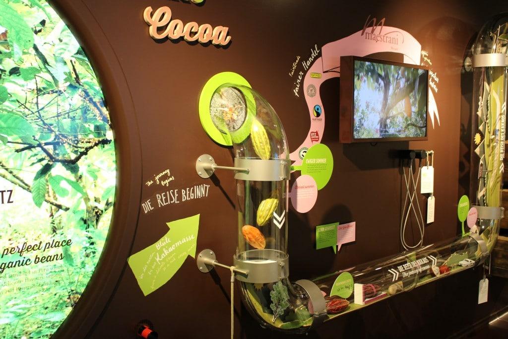 Maestrani´s Chocolarium - Ausstellung