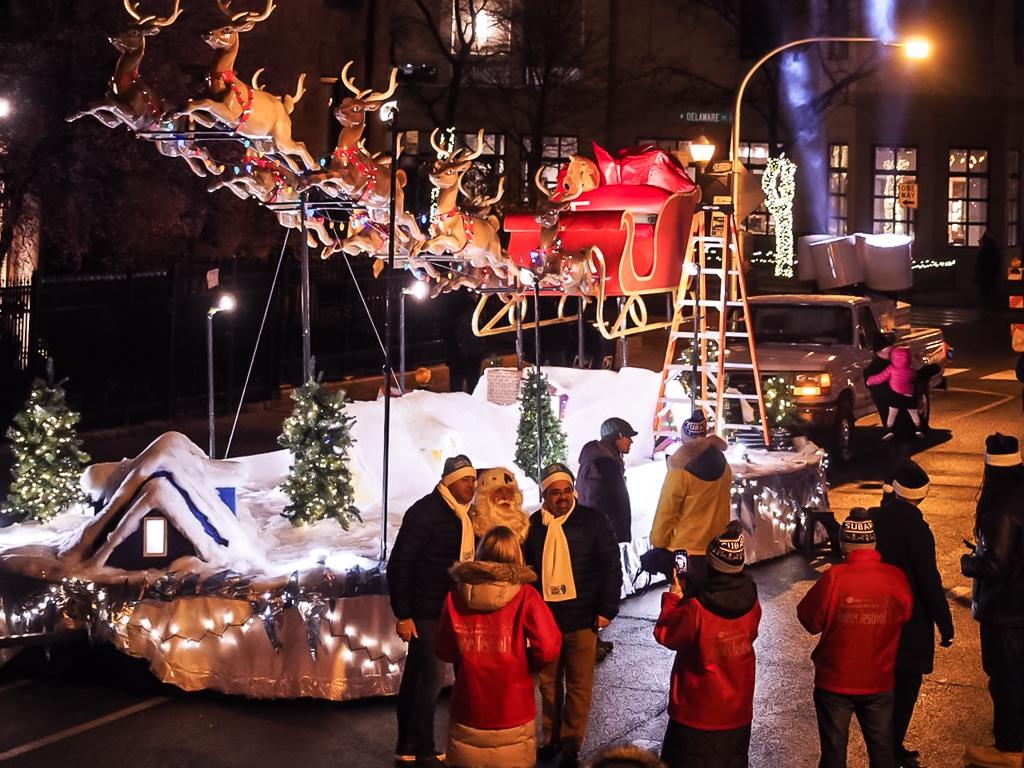 Weihnachtszeit in Chicago - amerikanische Weihnachten in Windy City