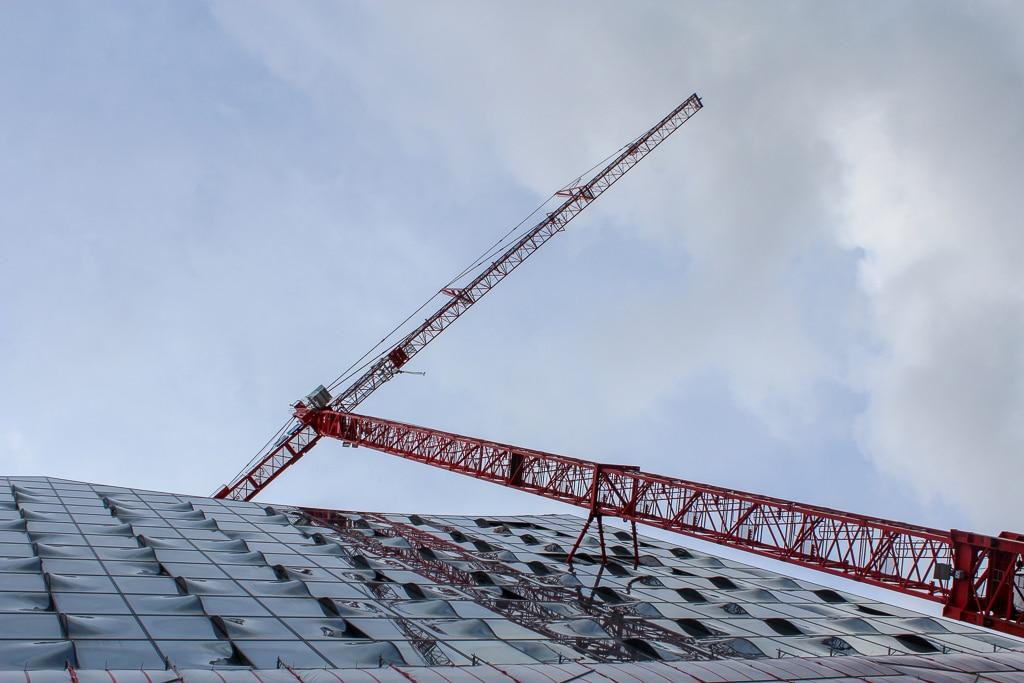 Die Elbphilharmonie als Baustelle und jetzt: Eine Zeitreise