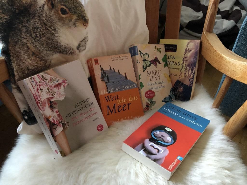 Liebesromane für unterwegs und daheim