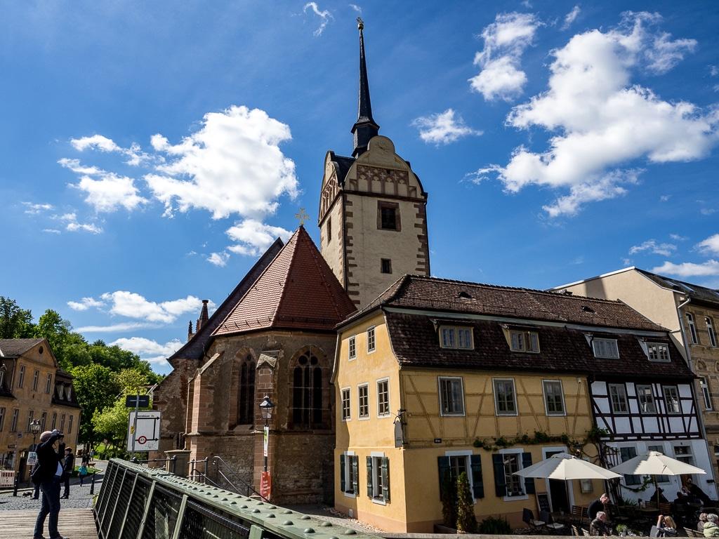 Marienkirche Gera außen