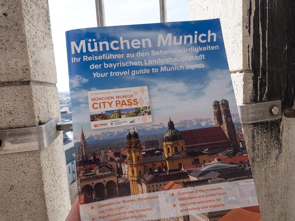 München Guide - erhältlich in der Stadtinformation