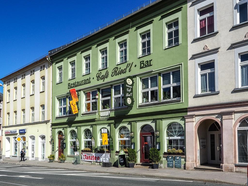 Schleiz zweitälteste Café-Haus Deutschlands