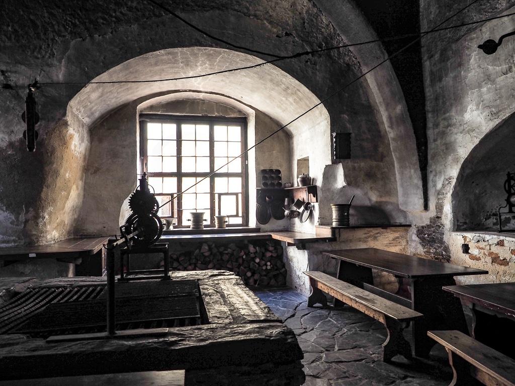Schloss Burgk Küche