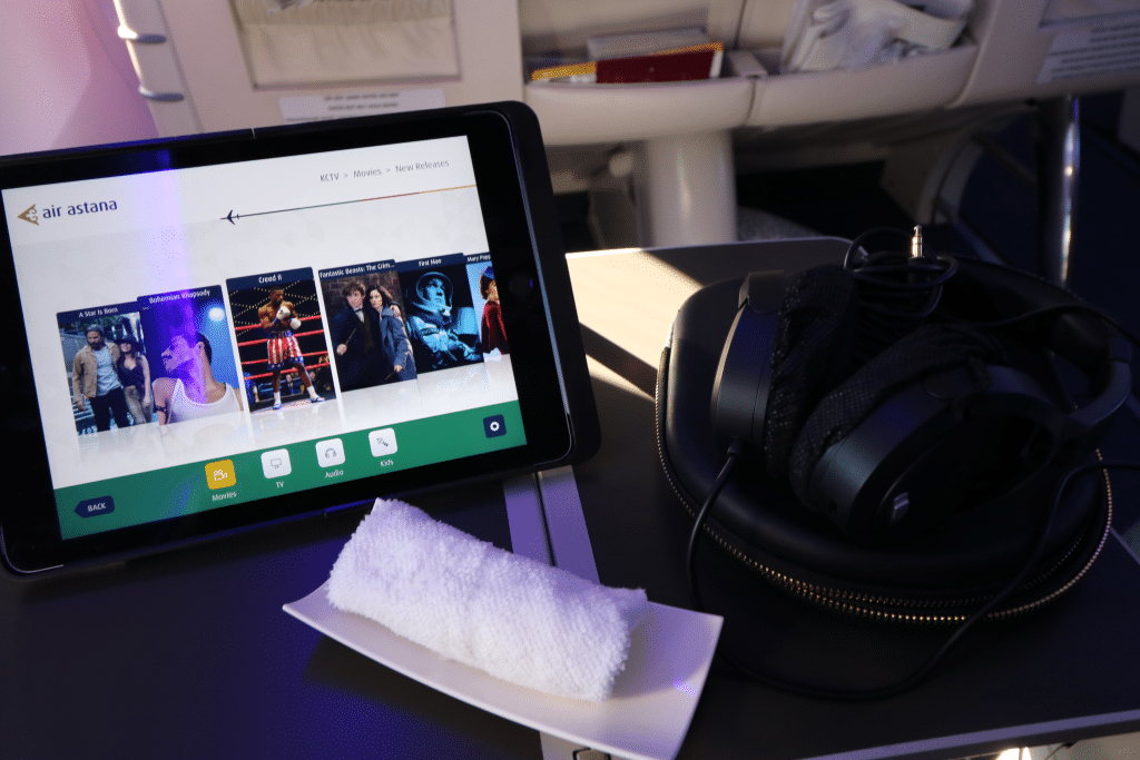Mit der Air Astana Businessclass von Frankfurt nach Nursultan (und zurück)