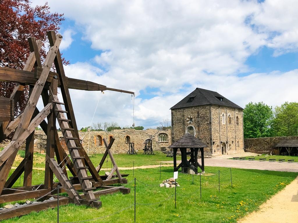 Burg Eger in Cheb