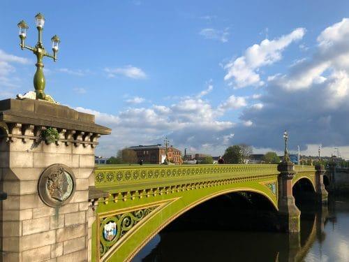 Albert Bridge Glasgow