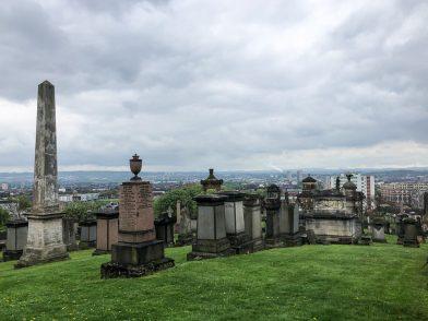 Was ich an meinem Geburtstag in Glasgow auf dem Friedhof machte.