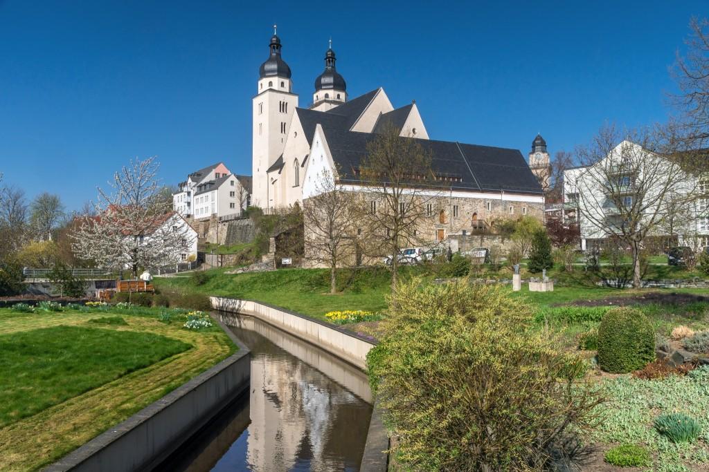 Foto St. Johannis-Kirche und Komturhof Plauen - CC BY-ND, Archiv TVV / Sebastian Theilig