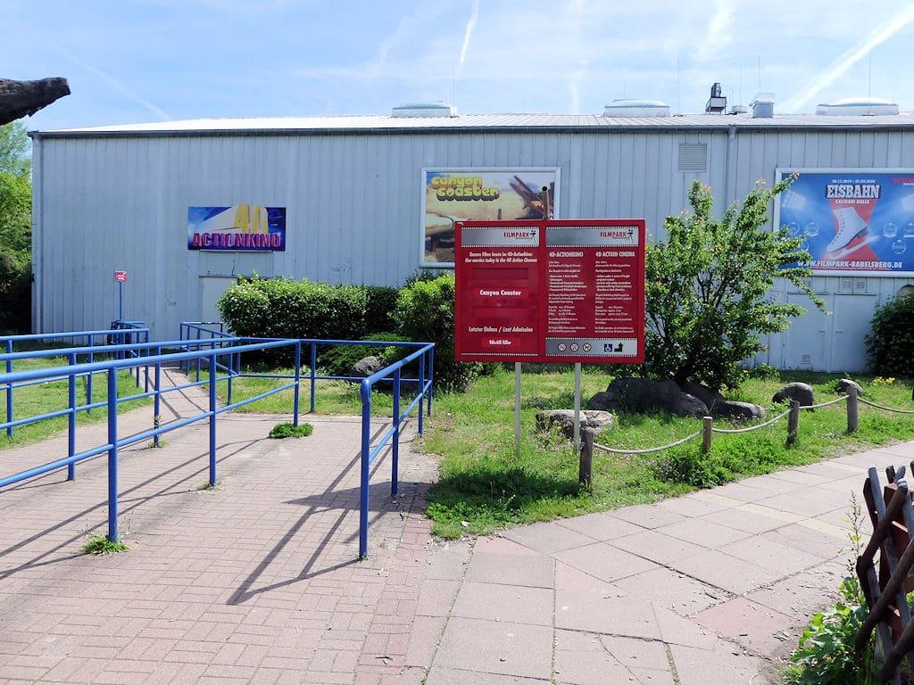 Filmpark Babelsberg - 4-D-Kino