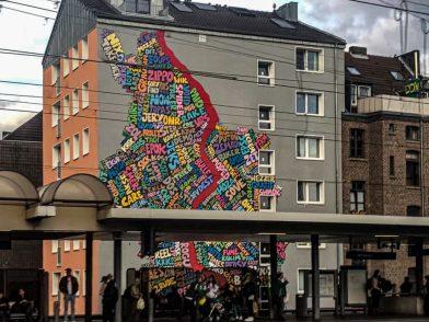Hier kannst du in Köln Street Art entdecken!
