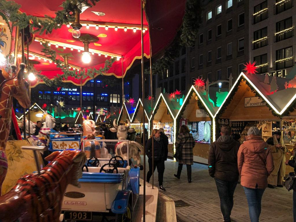 Zu Besuch auf den Düsseldorfer Weihnachtsmärkten 2019