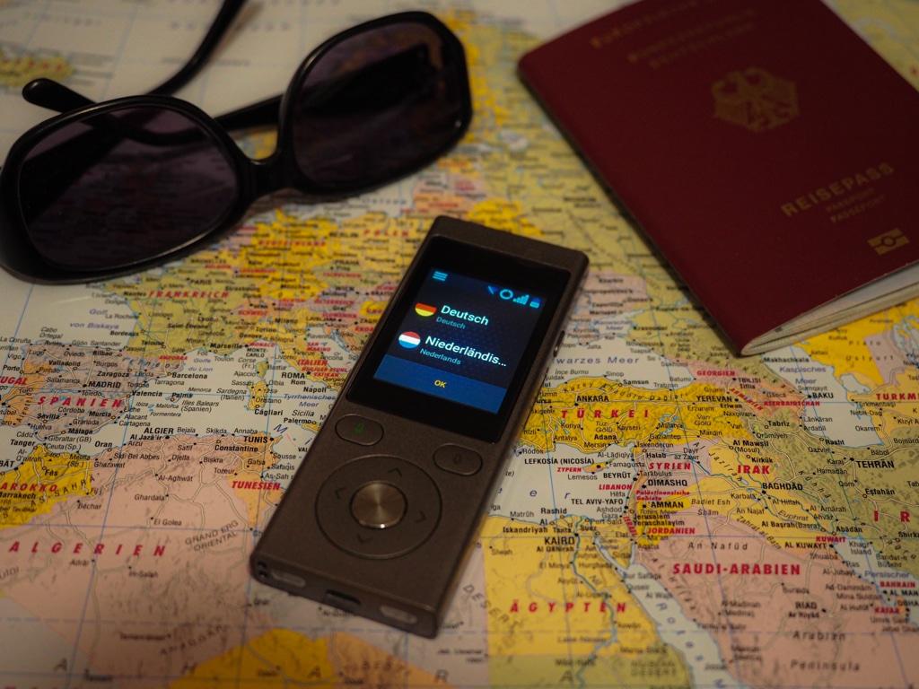 Vasco Translator Mini 2: Einfach im Urlaub verständigen.