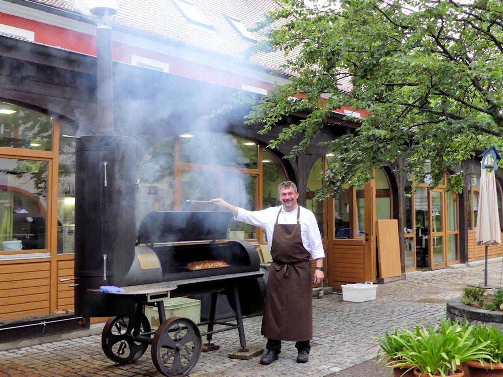 Erbgericht Tautewalde - Smokerabend - Gastgeber und Küchenmeister Enrico Schulz