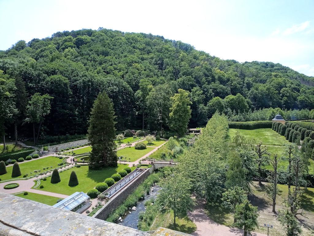 Schloss Weesenstein - Gartenanlage
