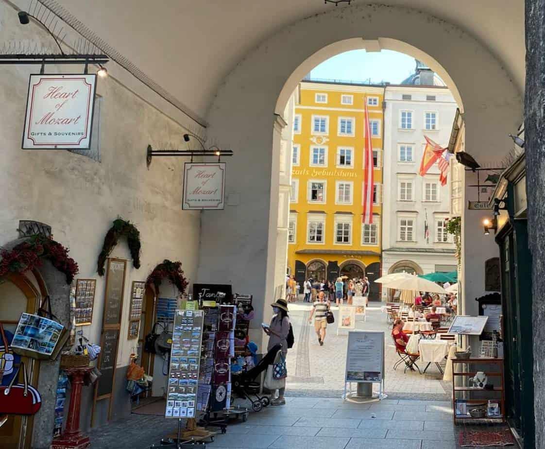 Ein Ausflug nach Salzburg - 4 Stunden in der Mozartstadt.