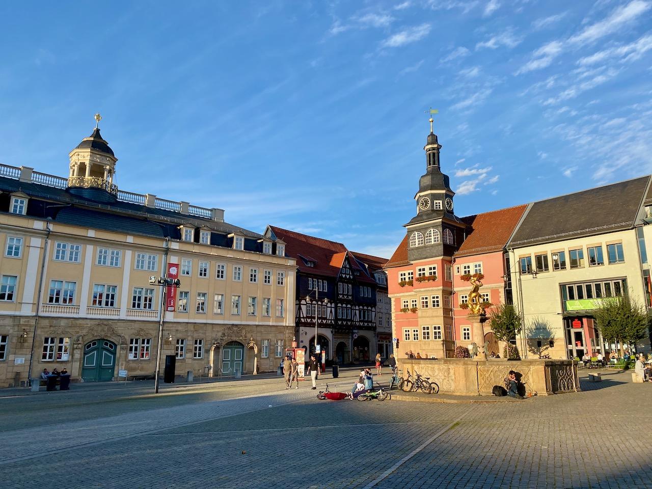 Eisenach Marktplatz