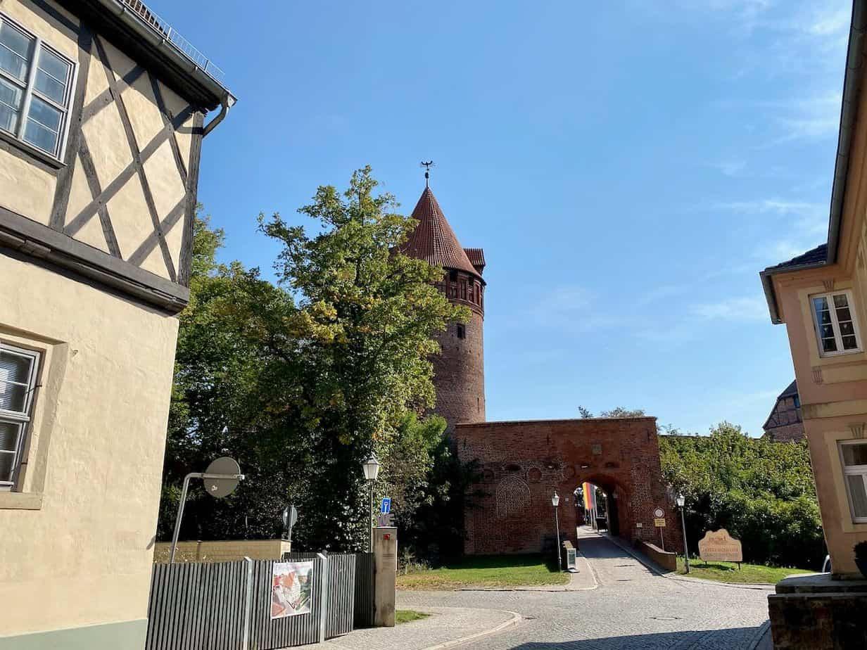 Eingang Burg Tangermünde