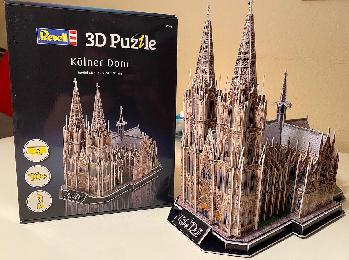 Kölner Dom 3d Puzzle