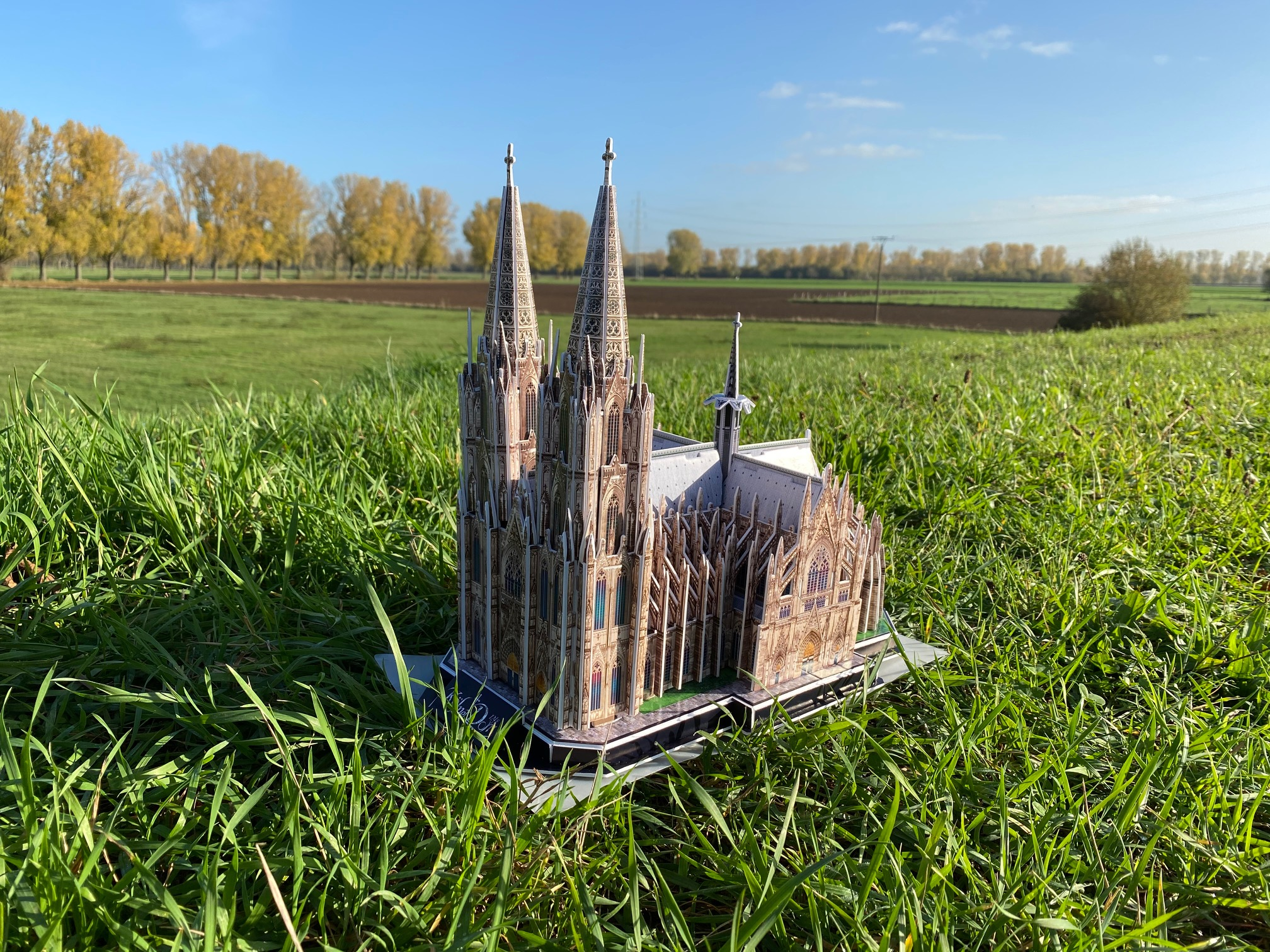 3D Puzzle vom Kölner Dom
