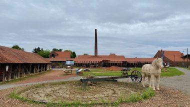 LWL Ziegeleimuseum Lage - Vom Lehm zur Ziegel durch die Zeit