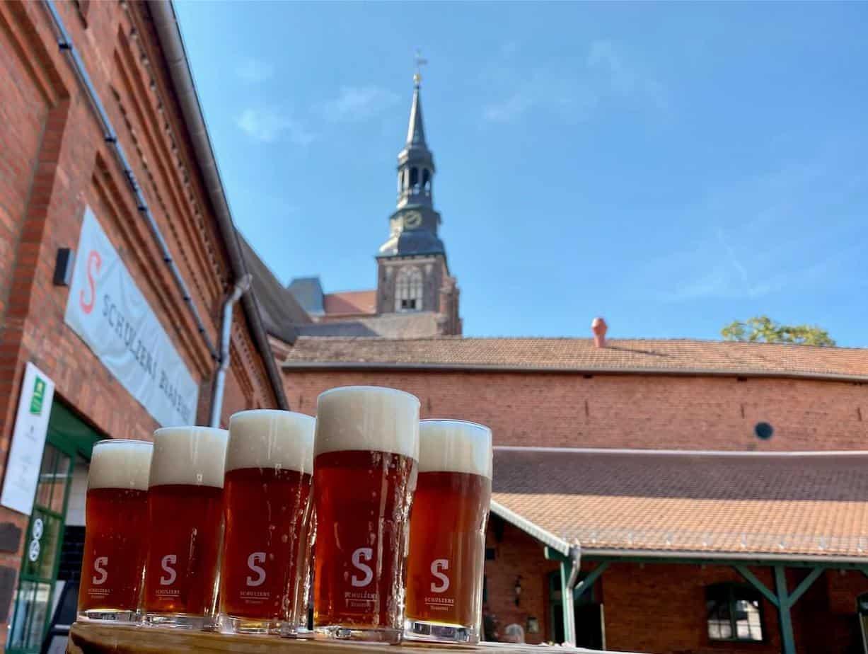 Bierverkostung bei Schulzens.