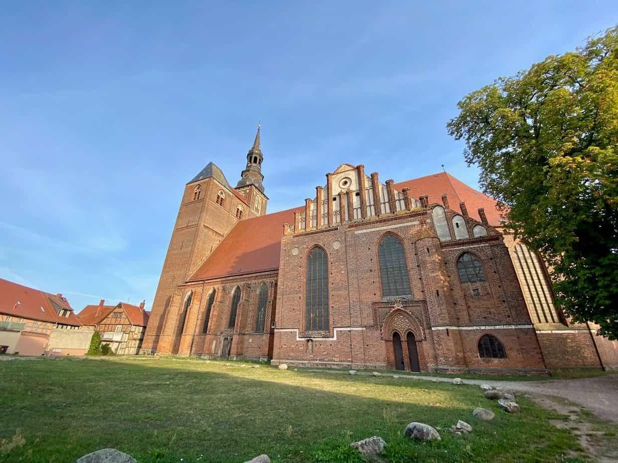 Stephanskirche Seitenansicht Tangermünde