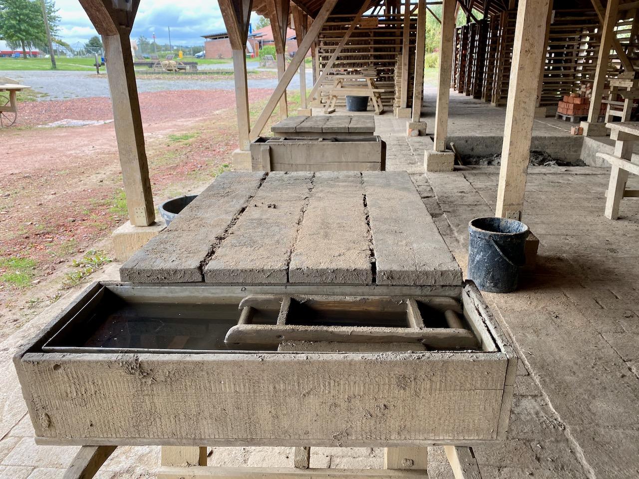 Lehmgrube Ziegeleimuseum Lage
