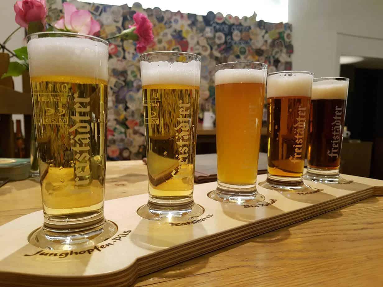 Bier aus der Bierweltregion Mühlviertel