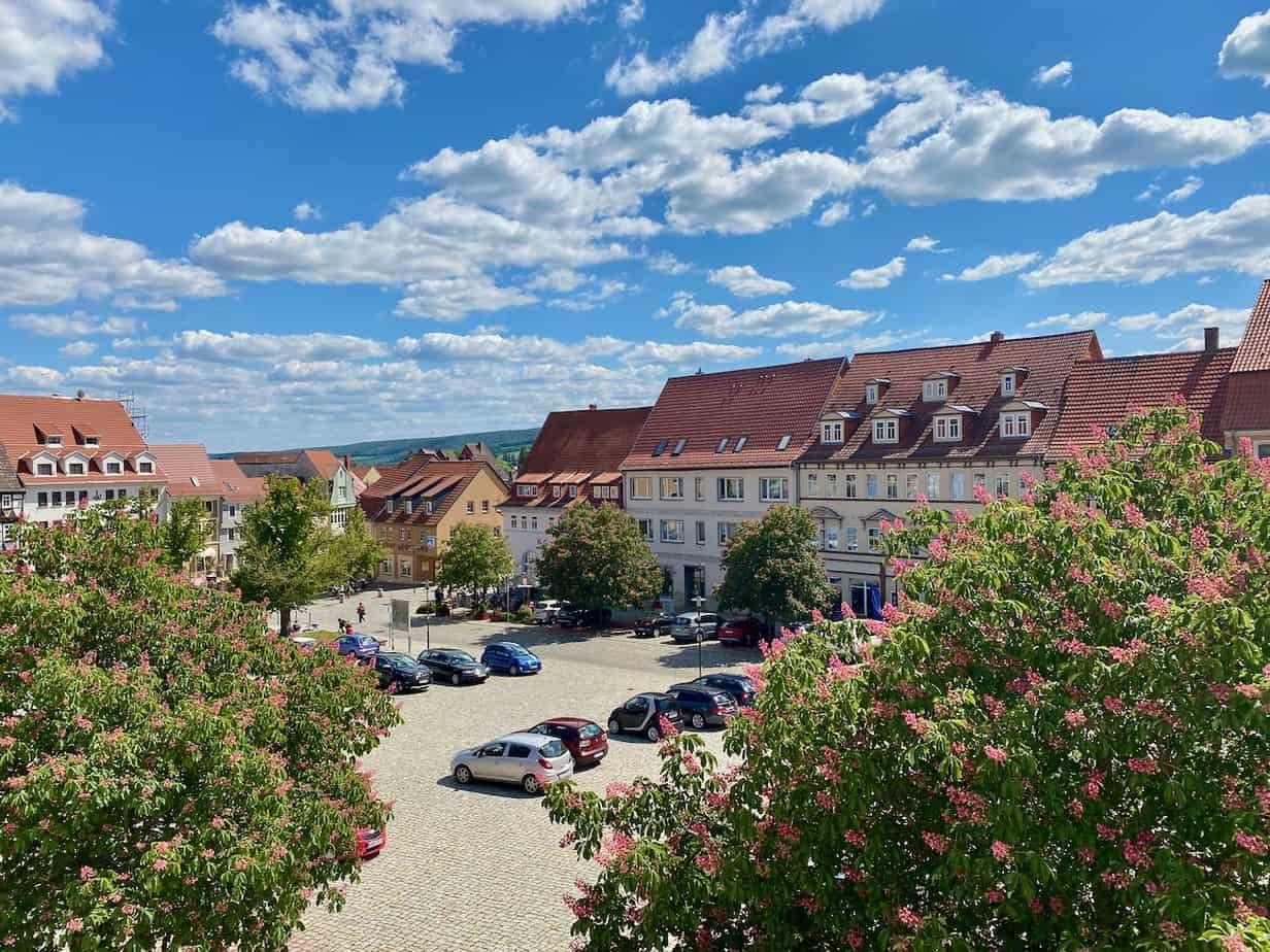 Bad Frankenhausen Blick auf Anger