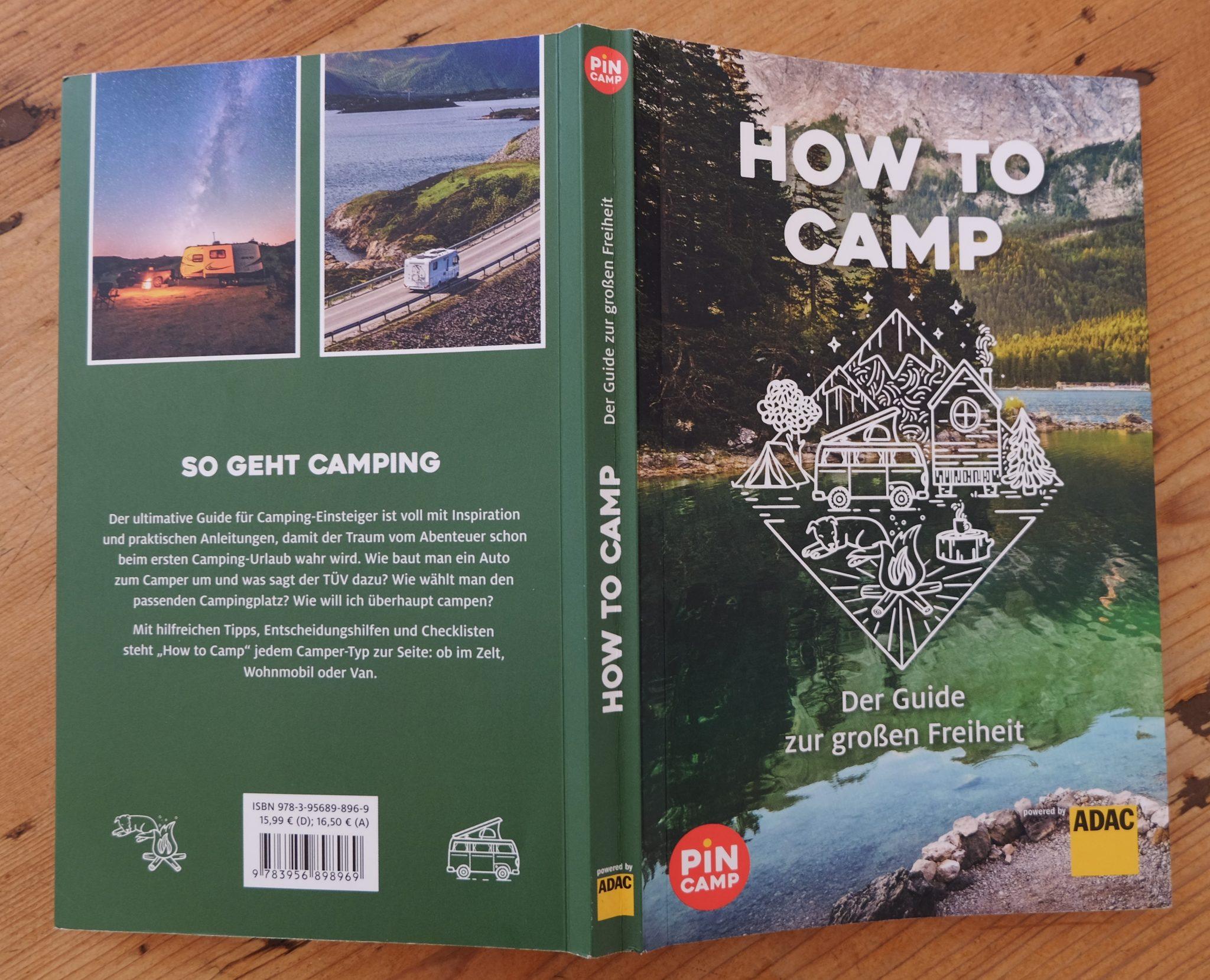 Buchvorstellung: How To Camp - Der Guide für Camping-Einsteiger