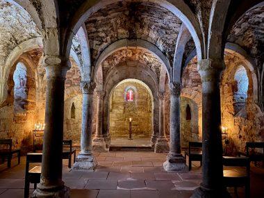 Kloster Memleben Krypta