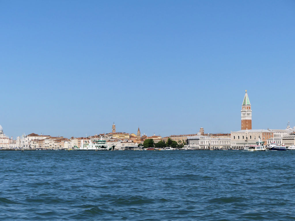 Fahrt nach Venedig