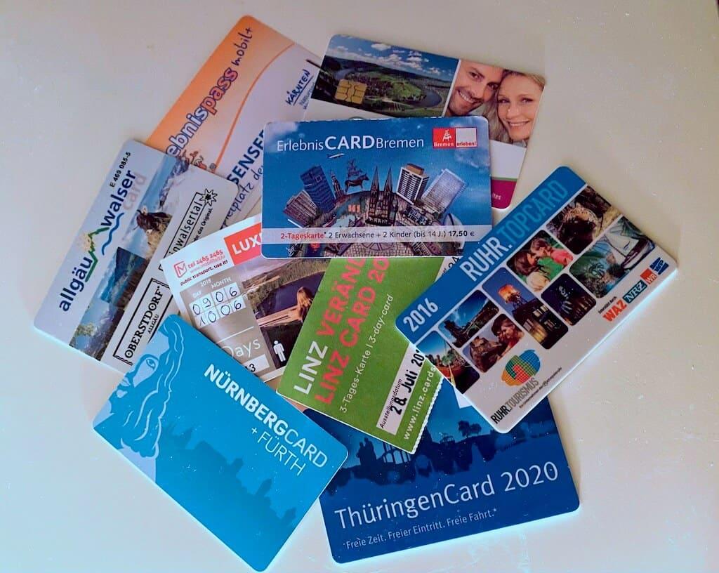 Touristenkarten