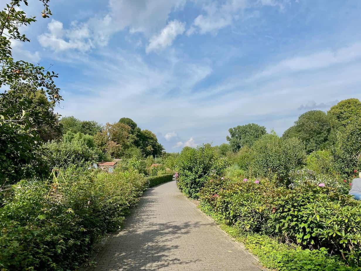 Die Kleingartenanlage Schmechtingwiesental in Bochum
