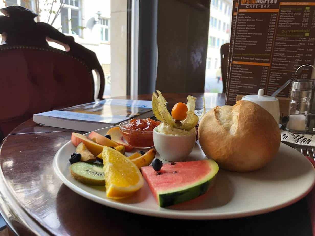 Café Brandmarken