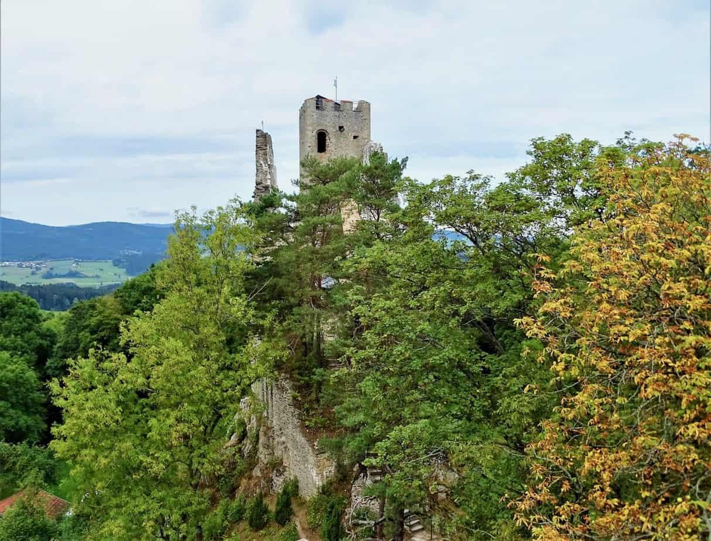 Burgruine Weißenstein Bayern