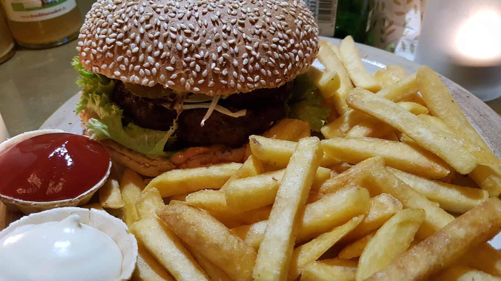 Burger vom Harzer Roten Höhenvieh